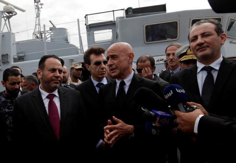 EU effort to halt migrants founders in Libya's chaos