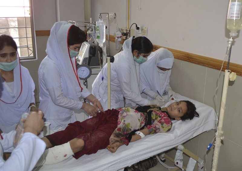 Powerful car blast in Pakistan kills at least 11, wounds 20