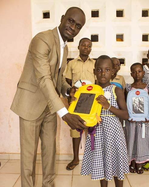 'Solarpak' uses solar technology to elevate education