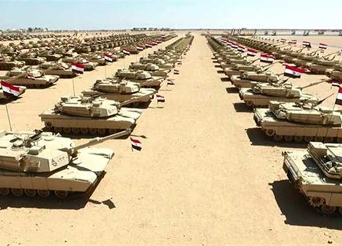 Sheikh Mohamed attends new Egypt military base opening