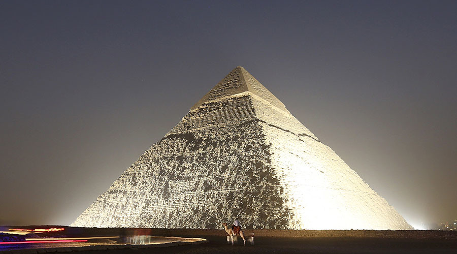 A Look at the Pyramids of Egypt One of the Wonders of the World