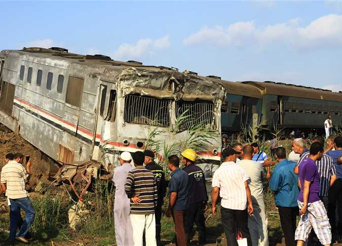 Killed in Egyptian train collision