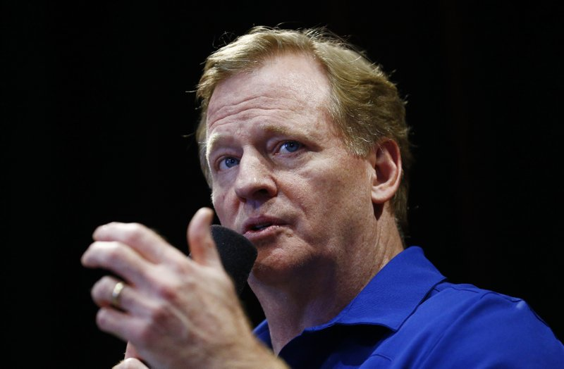 Goodell: Have to understand other side in anthem protests
