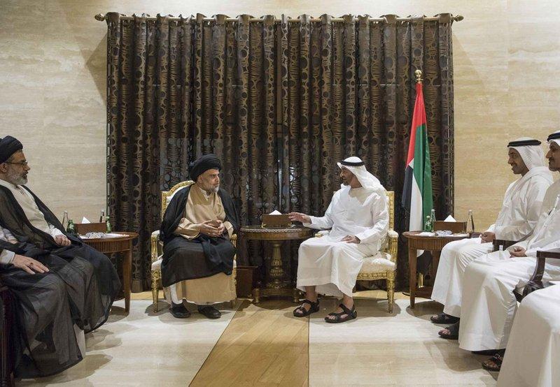 Iraqi Shia cleric's Saudi, UAE trips show Gulf realpolitik