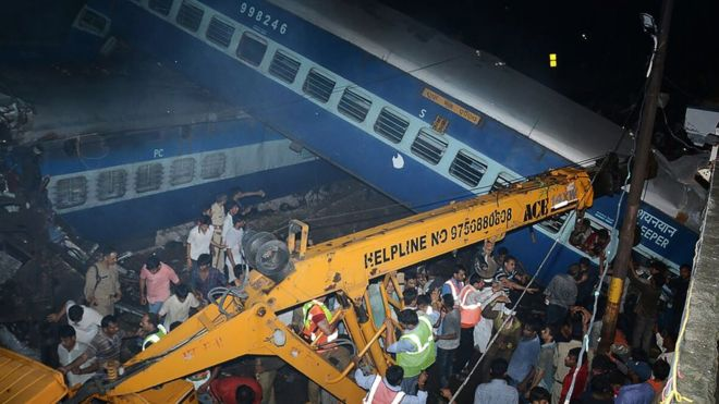 Train derailment in India leaves 23 dead, 40 injured