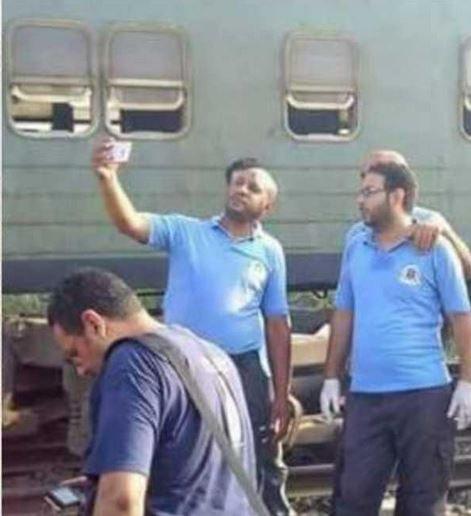 Egypt punishes train-disaster 'selfie medics'