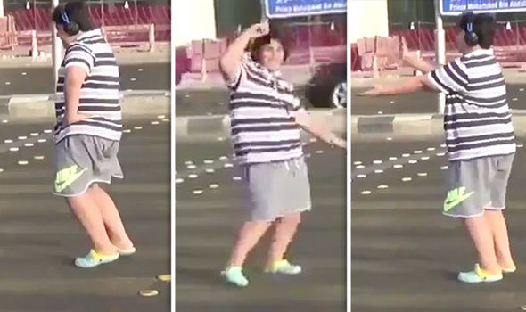 Saudi police arrest teenage boy for dancing in the street