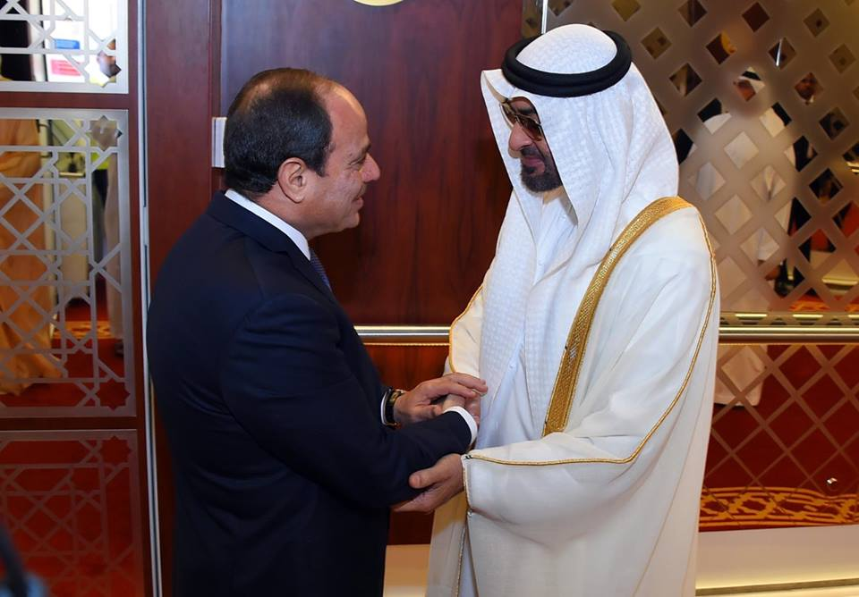 Cairo, Abu Dhabi Call for Facing Attempts to Destabilize Regional Security