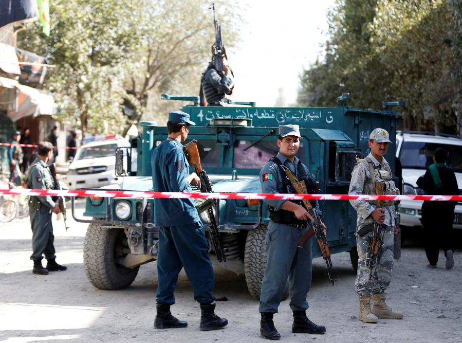 Islamic State claims responsibility for bombing near Kabul mosque