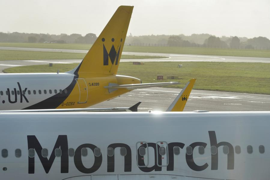 Jets scrambled for Monarch Airlines collapse
