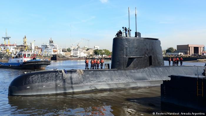 Time running out for Argentine sub crew? Canada monitoring situation, search intensifies