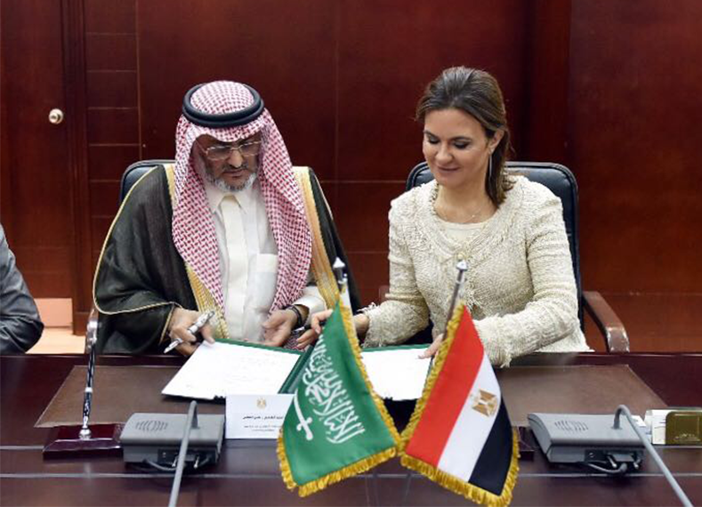 Egypt, Saudi Arabia sign LE 250 mln deal to finance entrepreneurship, ride sharing projects