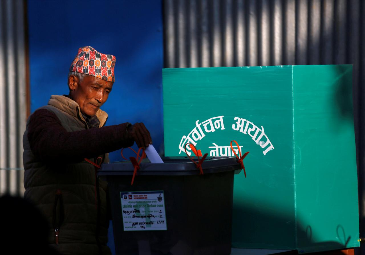 Nepal goes to the polls for historic vote