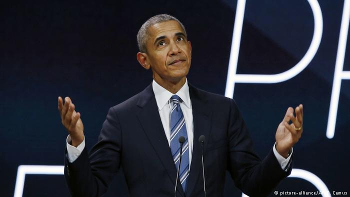 Obama laments lack of USA  climate leadership in Paris