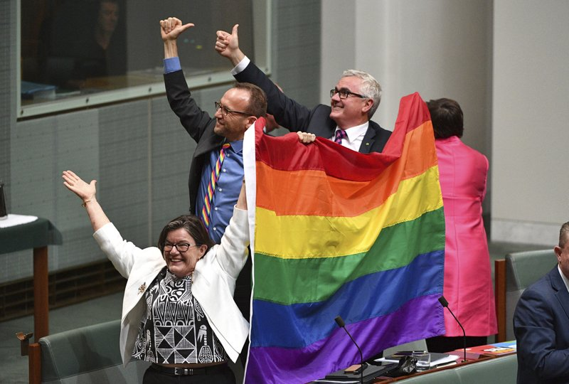 Australian Parliament allows same-sex marriages