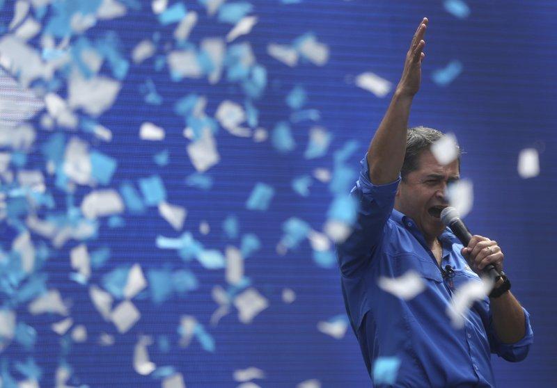 Honduran President Hernandez declared victor of November 26 election