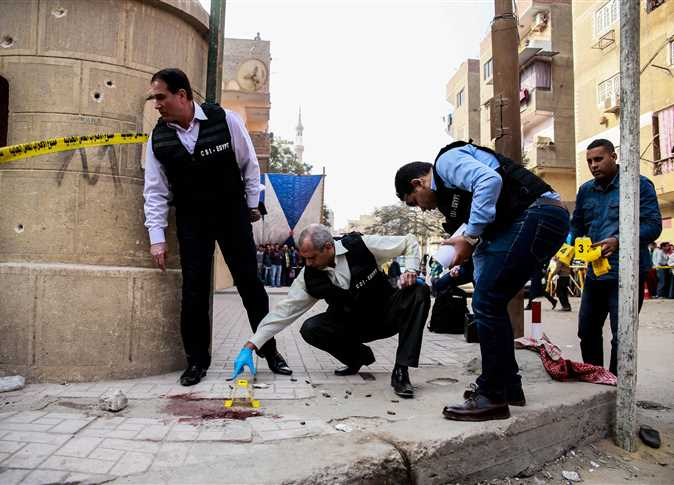 Egypt gun attack: Church stormed in Helwan province
