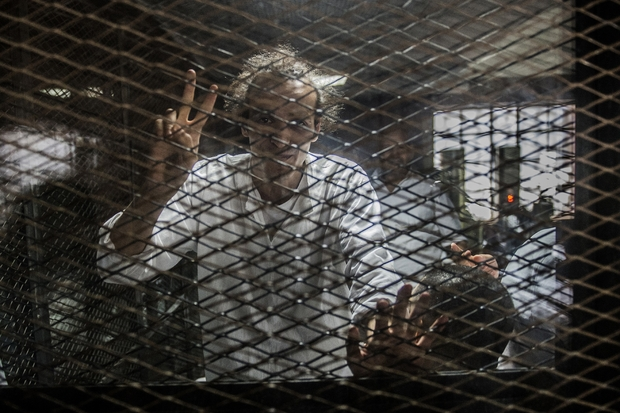 Jailed Egypt journalist to be handed UNESCO press prize