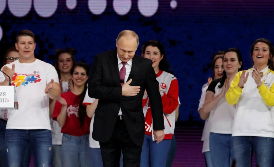 Allegations of ballot rigging in Russian Federation as Vladimir Putin wins fourth term