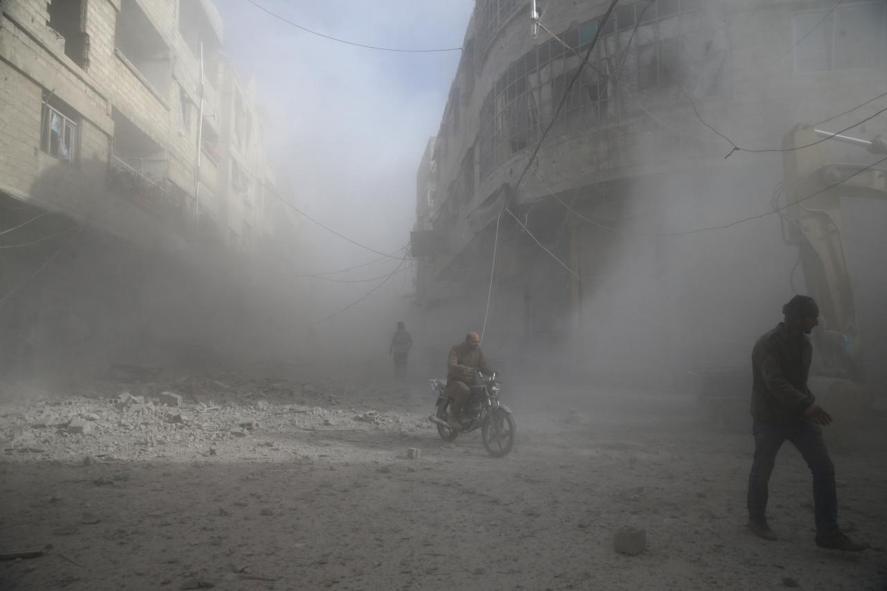 Which rebel groups are fighting in Syria's Eastern Ghouta?