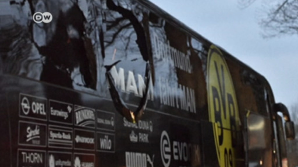 German-Russian man admits to Dortmund team bus bombing