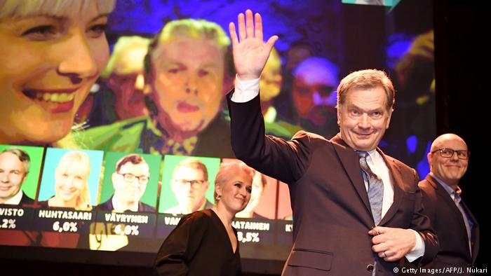 Finland's president poised for new six-year term after crushing poll victory