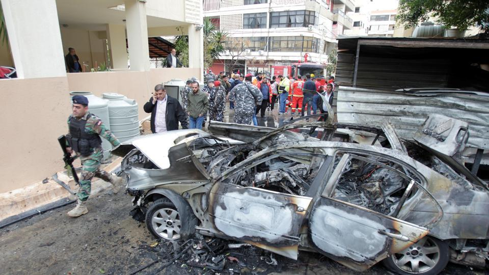 Brother of top Hamas official in Lebanon said targeted in auto  bombing