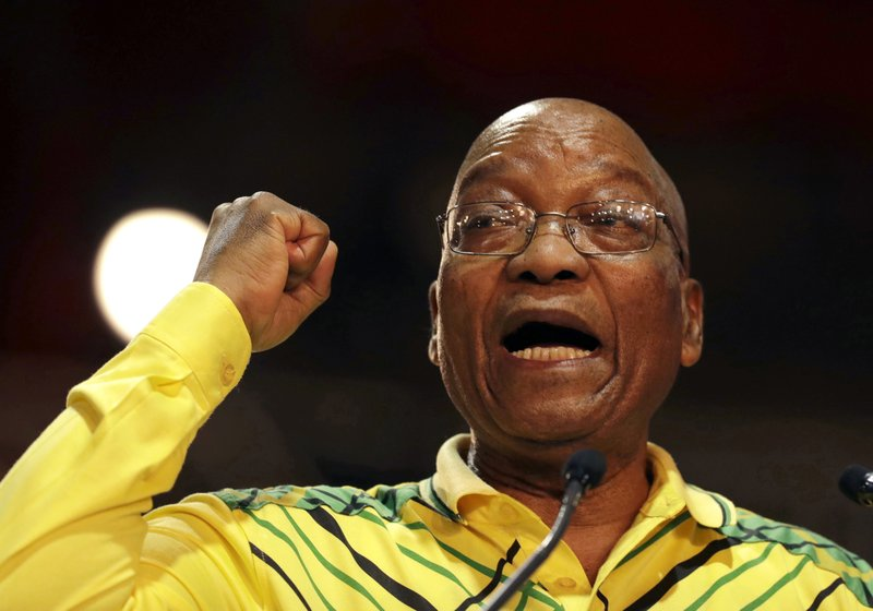Image result for South African ruling party leaders push for Zuma resignation