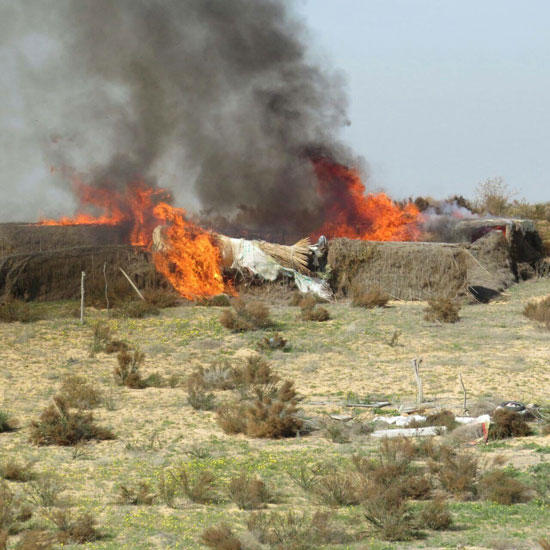 Zionist regime carries out 100+ airstrikes in Egypt