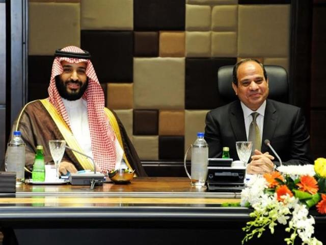 Saudi Crown Prince Mohammed, Sisi hold talks in Egypt