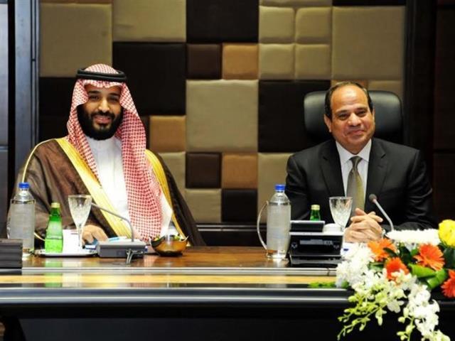 Saudi crown prince visits Egypt