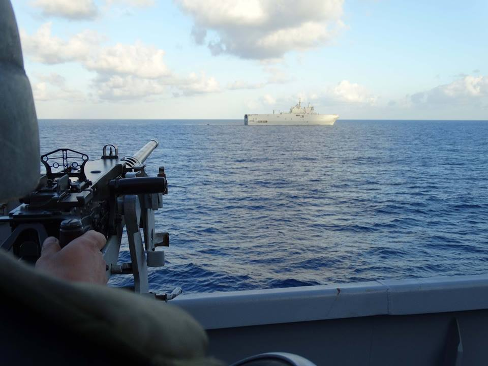 Egyptian-Franch navies conduct joint military exercise in Red Sea