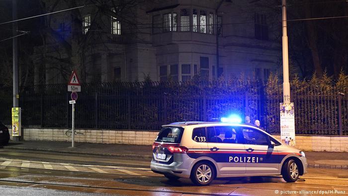 Knife attacker shot dead outside residence of Iranian ambassador in Vienna