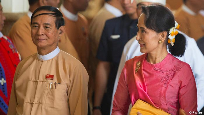 Myanmar parliament elects Aung San Suu Kyi loyalist as new president