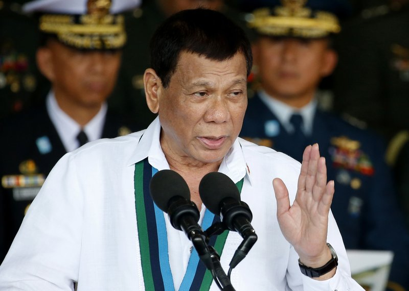 12:21Philippine President Duterte Declares Withdrawal From Int'l Criminal Court