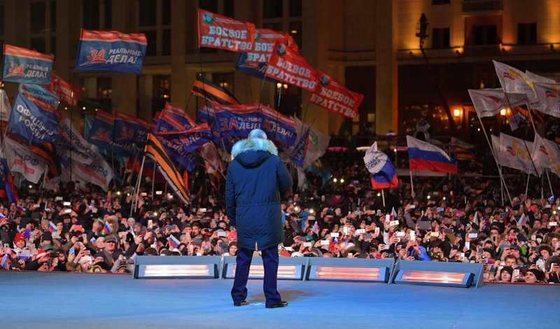 Putin gains massive mandate for nationalist policies