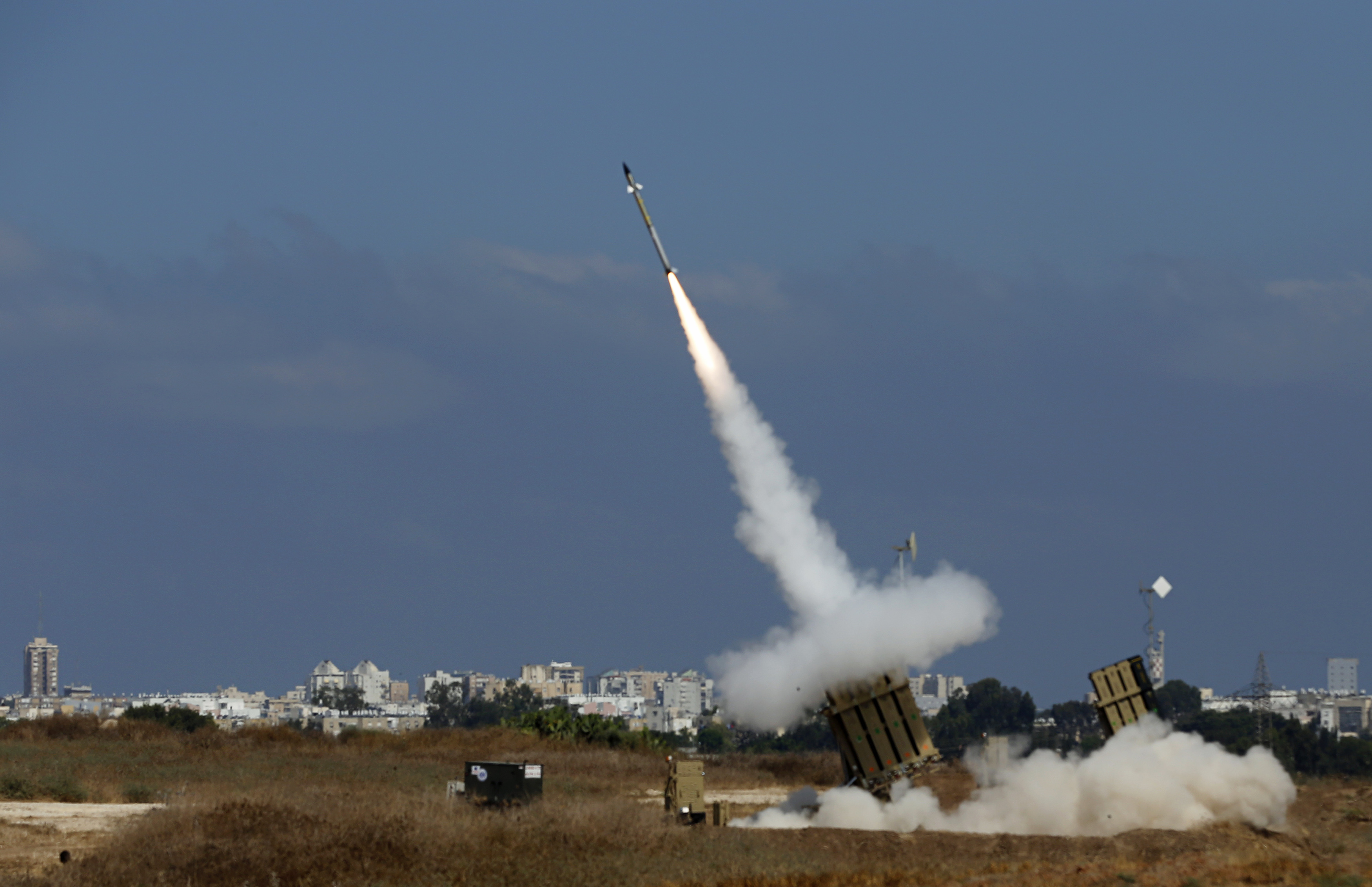 Israel Strikes Hamas Target in Gaza After Four Palestinians Breach Border Fence