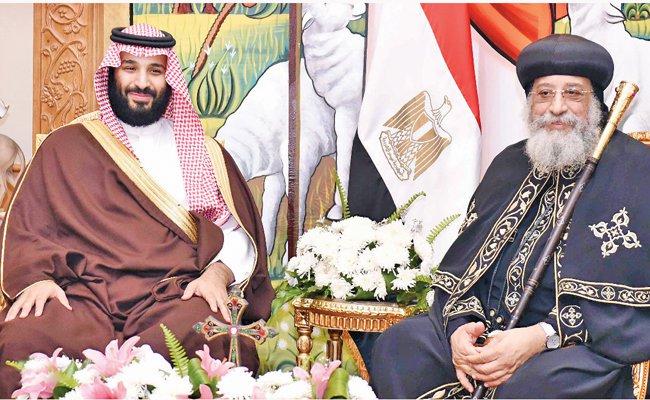 May defends Saudi ties as Crown Prince get royal welcome in London
