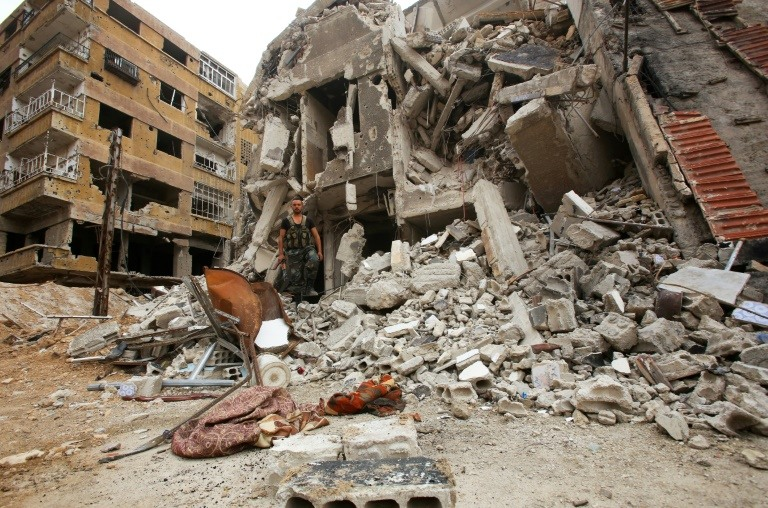 Temporary ceasefire in Damascus militant pocket: Syrian state media
