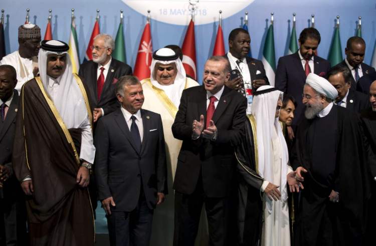 Muslim leaders call for international protection force for Palestinians