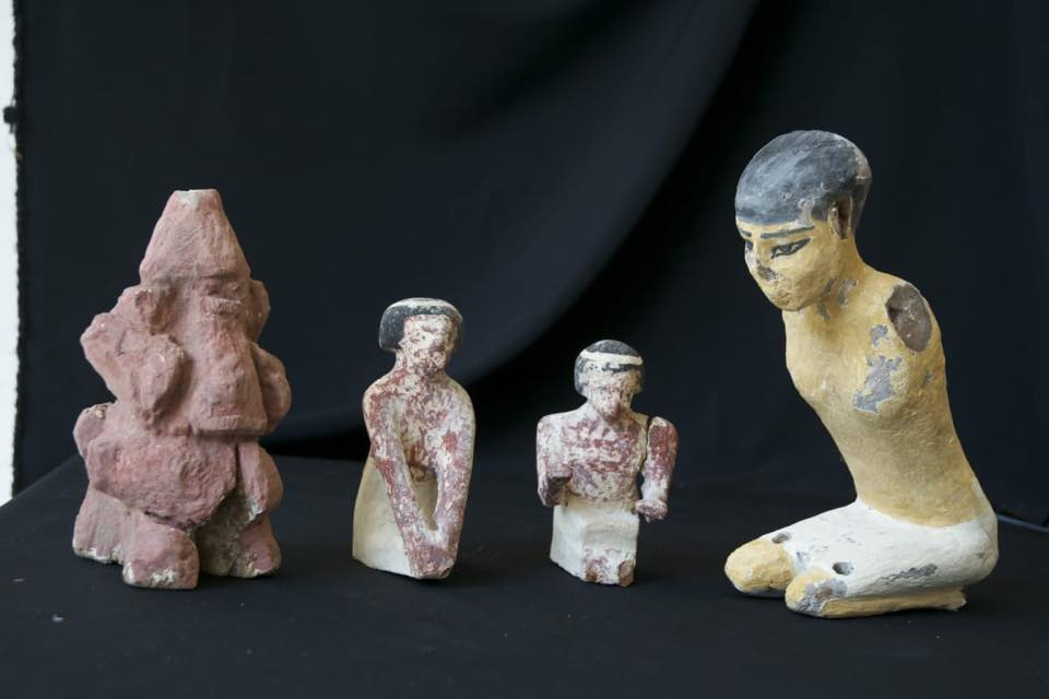 Photos: Foreign Affairs Ministry denies artifacts were smuggled by Egyptian diplomat