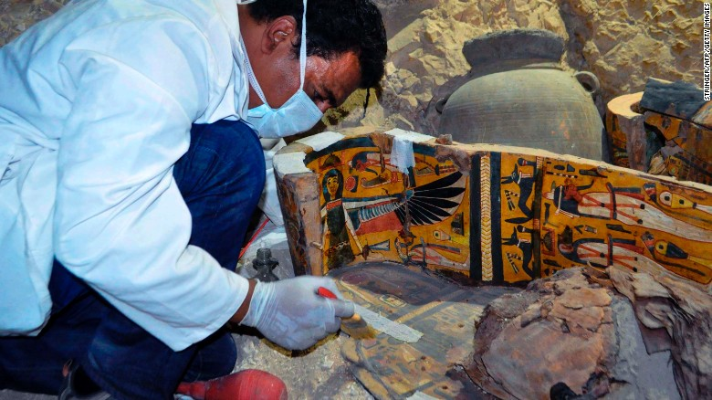 EGYPT - 350 additional artifacts found in newly-excavated Luxor cemetery - image 170418162127-02-luxor-draa-abul-nagaa-tombs-0418-exlarge-169_1 on https://alldesingideas.com