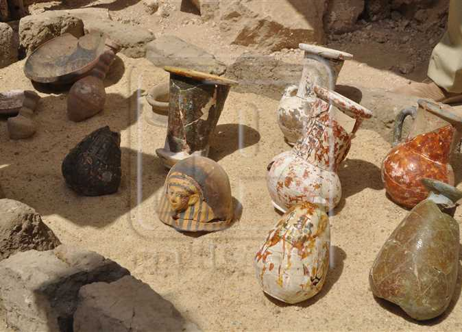 EGYPT - 350 additional artifacts found in newly-excavated Luxor cemetery - image wan_aboul_magd_0 on https://alldesingideas.com