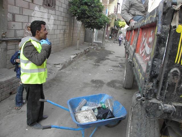 Garbage segregation in Monfeya