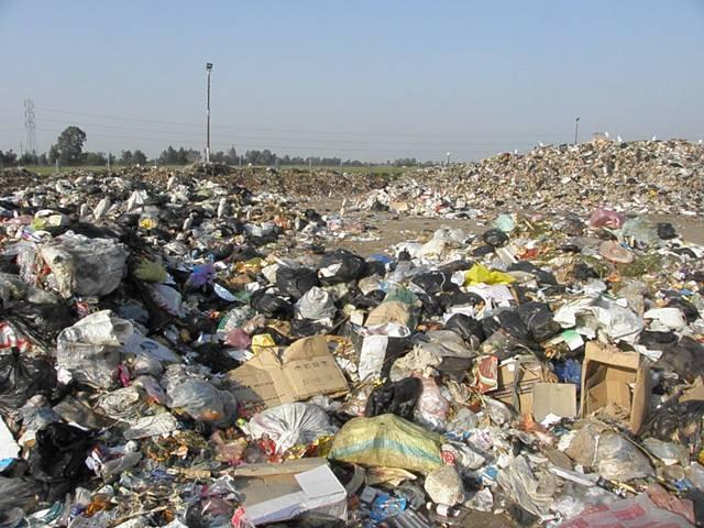 garbage plant in Monofeya
