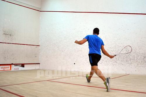 Heliopolis Club: Squash