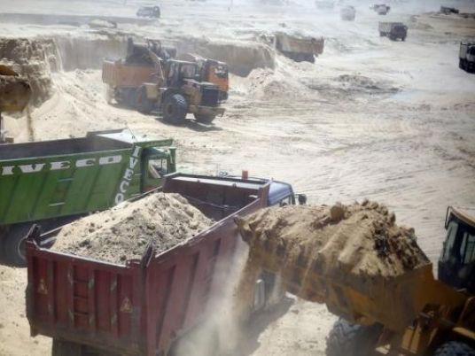 UAE's al-Marfaa dredger starts digging new Suez channel
