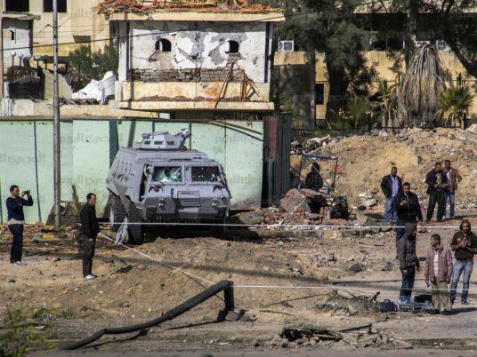 Egyptian police kill 16 terrorists