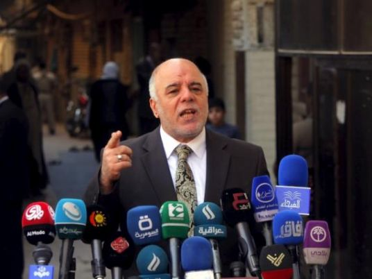 Iraqi PM Haider al-Abadi announces bid for re-election