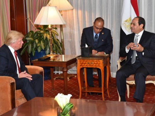 Sisi cautions Trump against 'complicating' matters in Middle East: Egyptian presidency